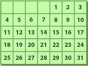 HOME 6 kalender