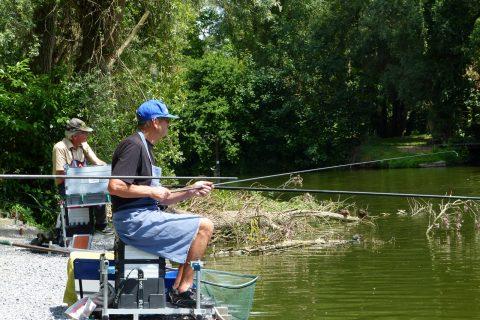 2019 07 09 Robert Thomas & Julien Cuyvers, vaste stok vissers