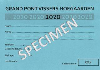 2020 lidkaart specimen xxx-sm
