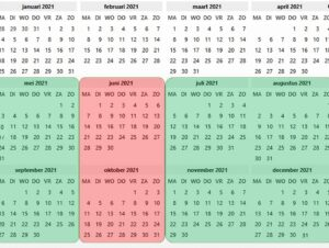 Nachtvissen vanaf mei 2021